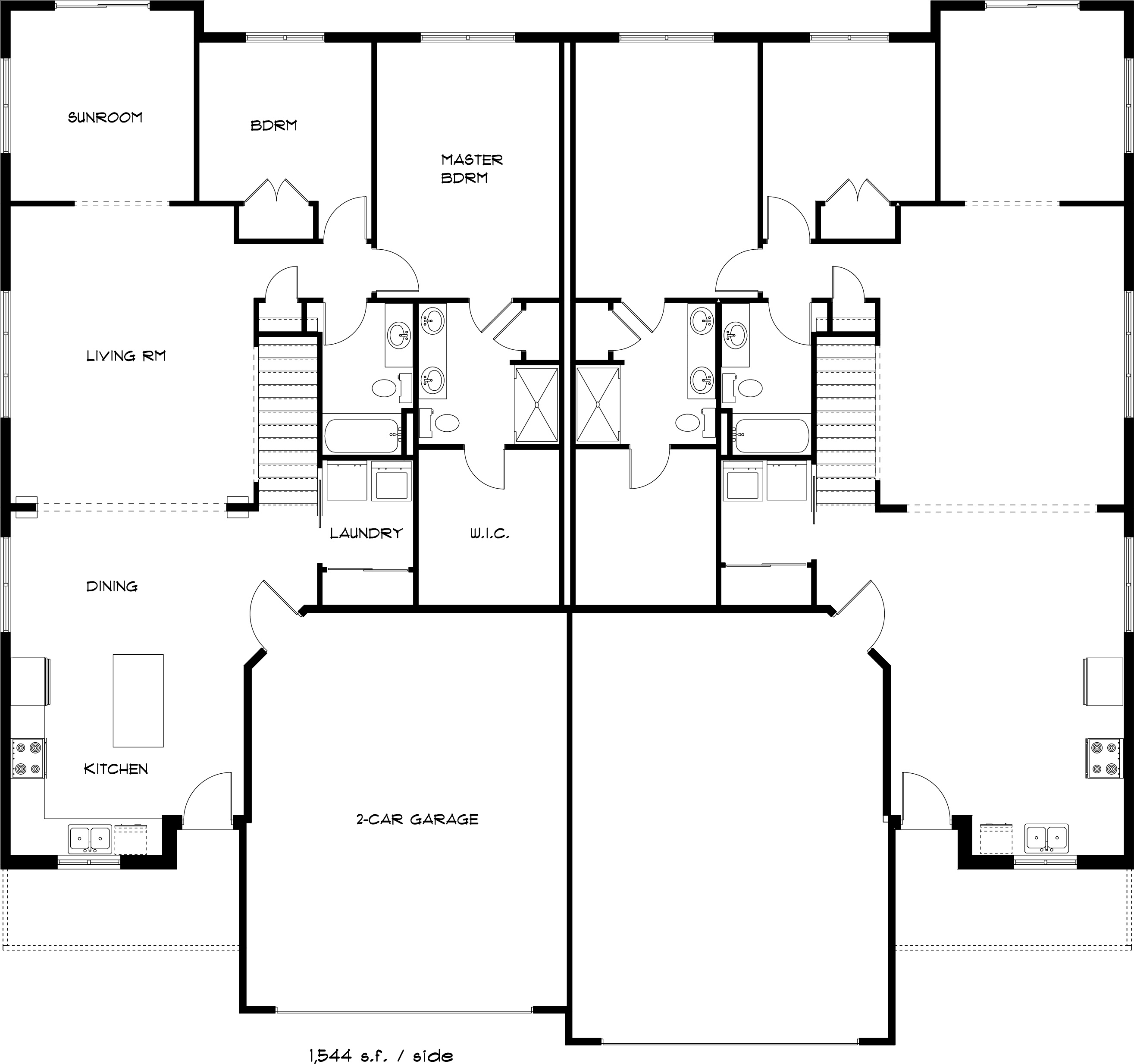 1309 Pinecrest Main Floorplan