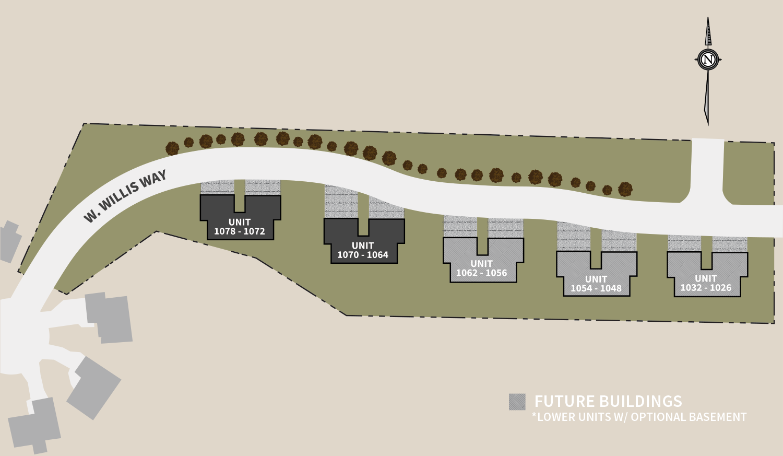 Monarch Ridge Condos Site Plan