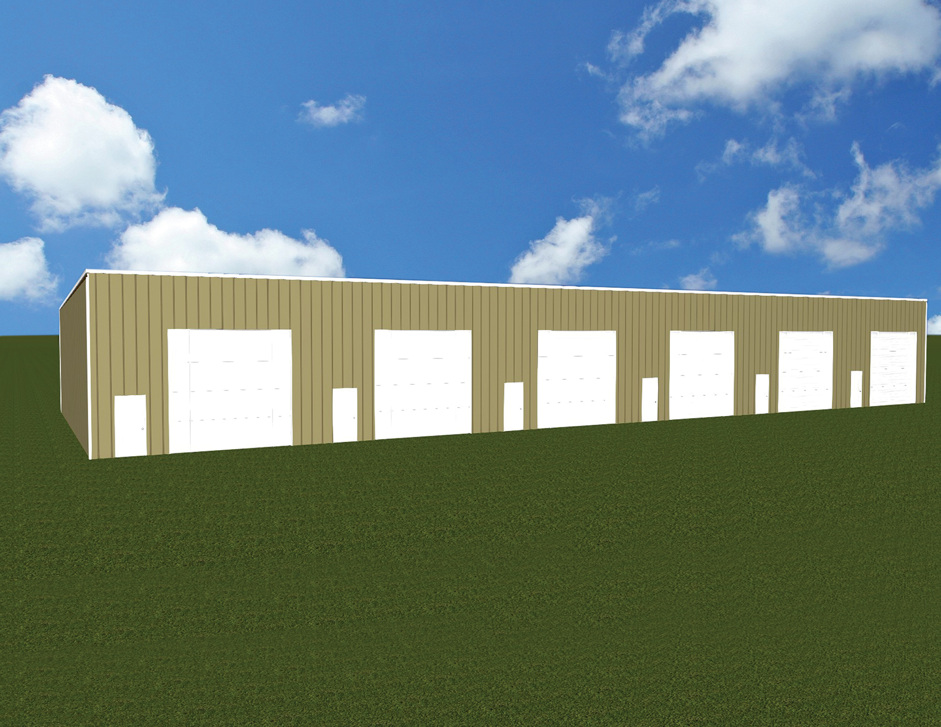 Town Club rd - Building Elevation view